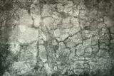 Messy surface of old concrete wall