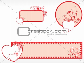 abstract pattern banner illustration