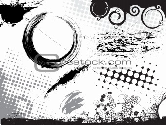 abstract urabn vector illustration