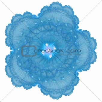 Abstract elegance background. Blue - white palette.