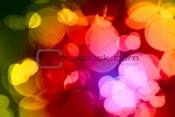 Beautiful abstract warm color background