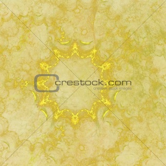 Abstract elegance background. Yellow palette.