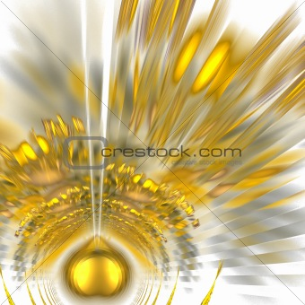 Abstract elegance background. Yellow - gray palette.