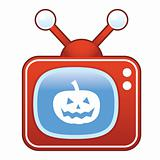 Jack-O-Lantern on Retro TV