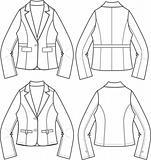 lady blazer formal jacket