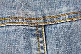 Detail of pocket jeans