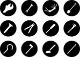 Set icons. Tools.