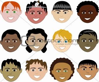 Boys Faces