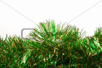 Green Christmas Tinsel