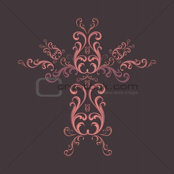 Modern-Traditional Vintage-Abstract Transylvanian flower pattern for special graphic design creations