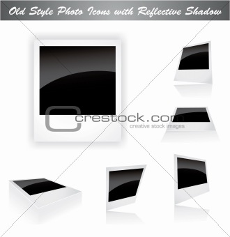 Classic Photo Frame with place for picture