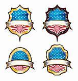 USA Vintage Emblems