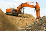 Orange earth mover