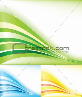 Vector color banner