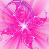 Abstract elegance background. Purple - white palette.