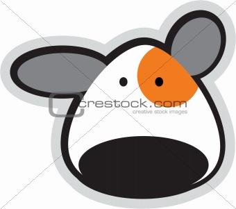 cartoon teddy face
