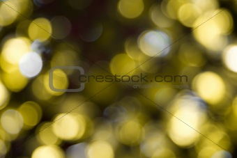 Abstract Unfocused Lights