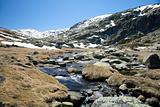 landscape at gredos mountains