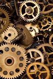 Macro detail of old gears