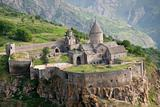 Aerial view on Tatev