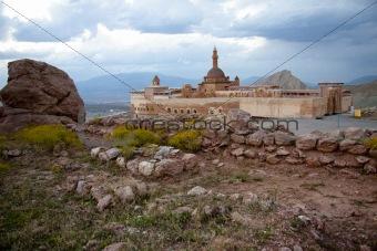 Old castle near Dogubayazit in Eastern Turkey