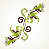 isolated floral pattern illustration