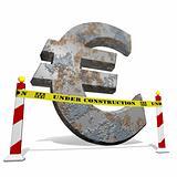 Euro under construction