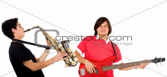 Couple of musicians