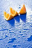 Fresh juicy orange slices