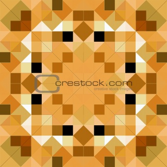 tangram mandala puzzle