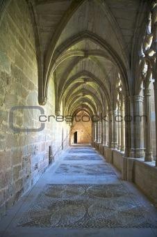 monastery of la oliva cloister