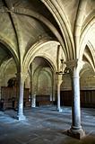 monastery of la oliva columns