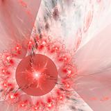 Abstract elegance background. Red - white palette.
