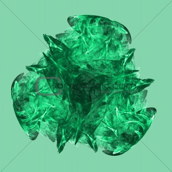Abstract elegance background. Green palette.