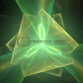 Abstract elegance background. Green - black palette.