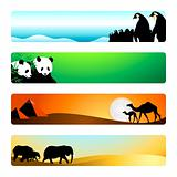 Travel banners | Set 1