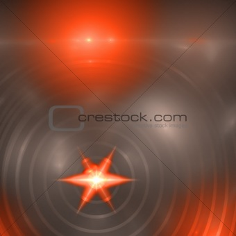 Abstract elegance background. Orange - gray palette.