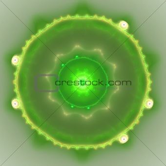 Abstract elegance background. Yellow - green palette.
