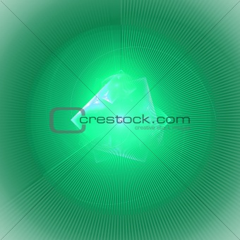 Abstract elegance background. White - green palette.