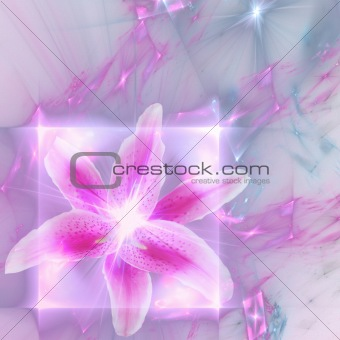 Abstract elegance background. Pink - purple palette.