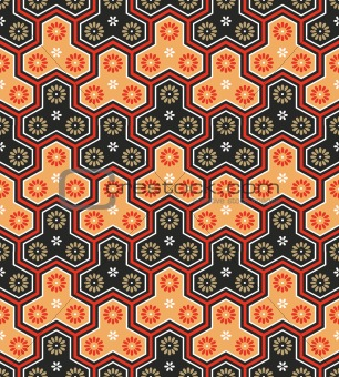 Classic japanese seamless pattern