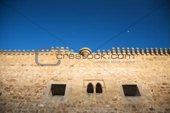 battlements of castle