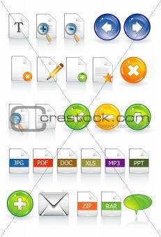 icons documents