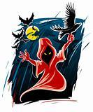 frightful halloween midnight ghost