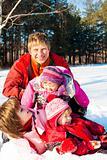 Weekend in winter park