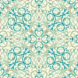 middle eastern inspired seamless tile design