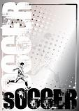 Soccer Golden Poster Background 1