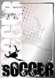 Soccer Golden Poster Background 2