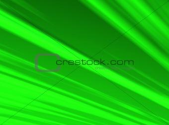 Green Radiant Sky