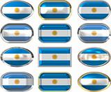 twelve buttons of the Flag of Argentina